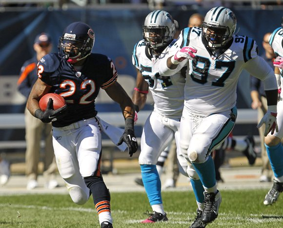2012 NFL Week Eight Preivew — Carolina at Chicago