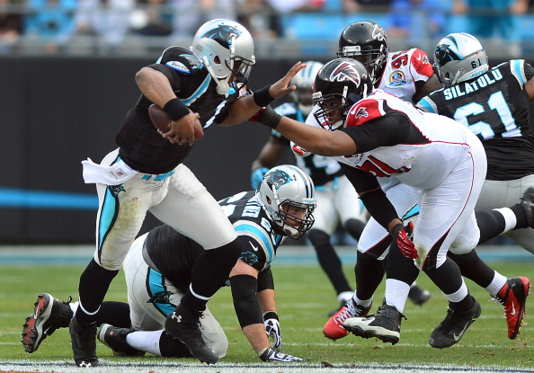 Newton's Huge Day Leads Panthers Over Falcons 30-20