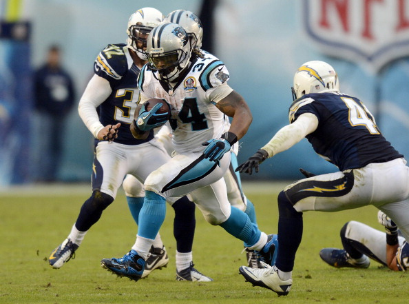 Panthers Rout Chargers 31-7
