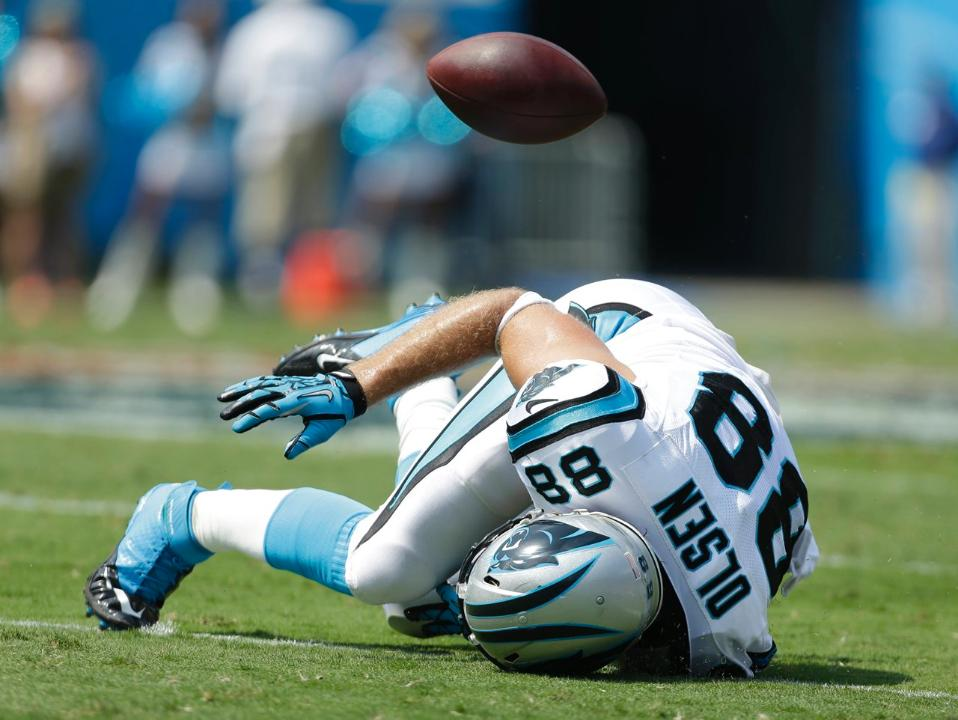 Panthers Tight End Greg Olsen Says He's Done for the Season