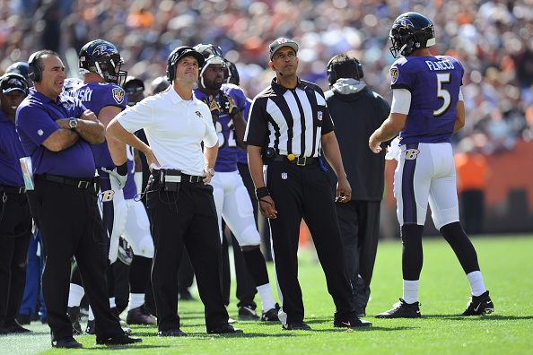 Baltimore Ravens v Cleveland Browns
