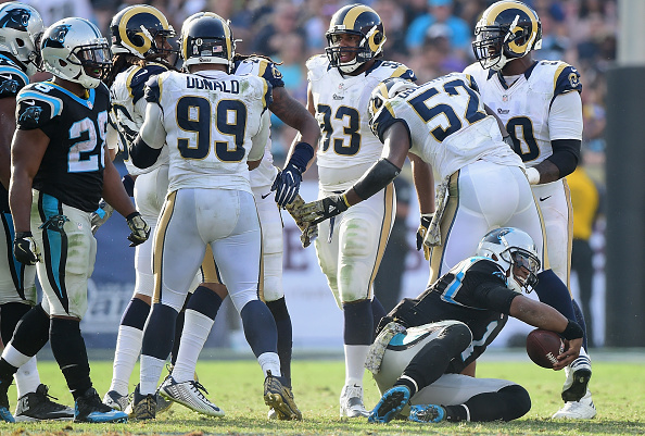 Carolina Panthers v Los Angeles Rams