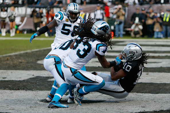 Panthers Can't Rally Late; Fall to 4-7 After 35-32 Loss to Raiders in Oakland