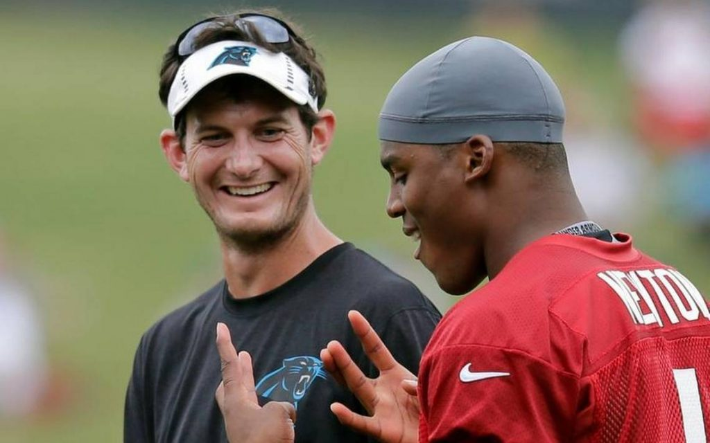 Panthers Fire OC Mike Shula and QB Coach Ken Dorsey